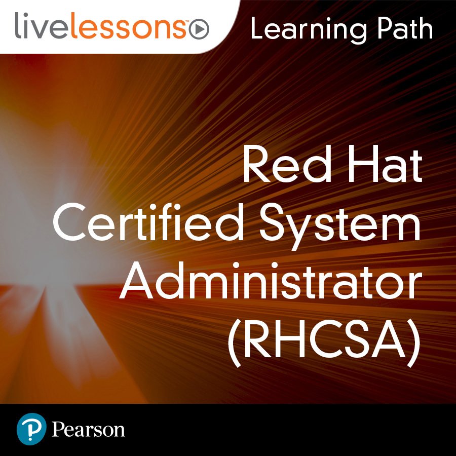 cover for Learning Path: Red Hat Certified System Administrator (RHCSA)
