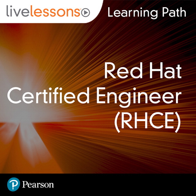 cover for Learning Path: Red Hat Certified Engineer (RHCE)