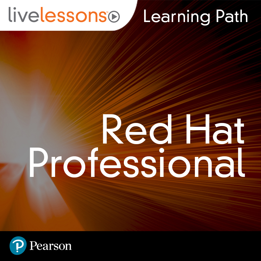 cover for Learning Path: Red Hat Professional
