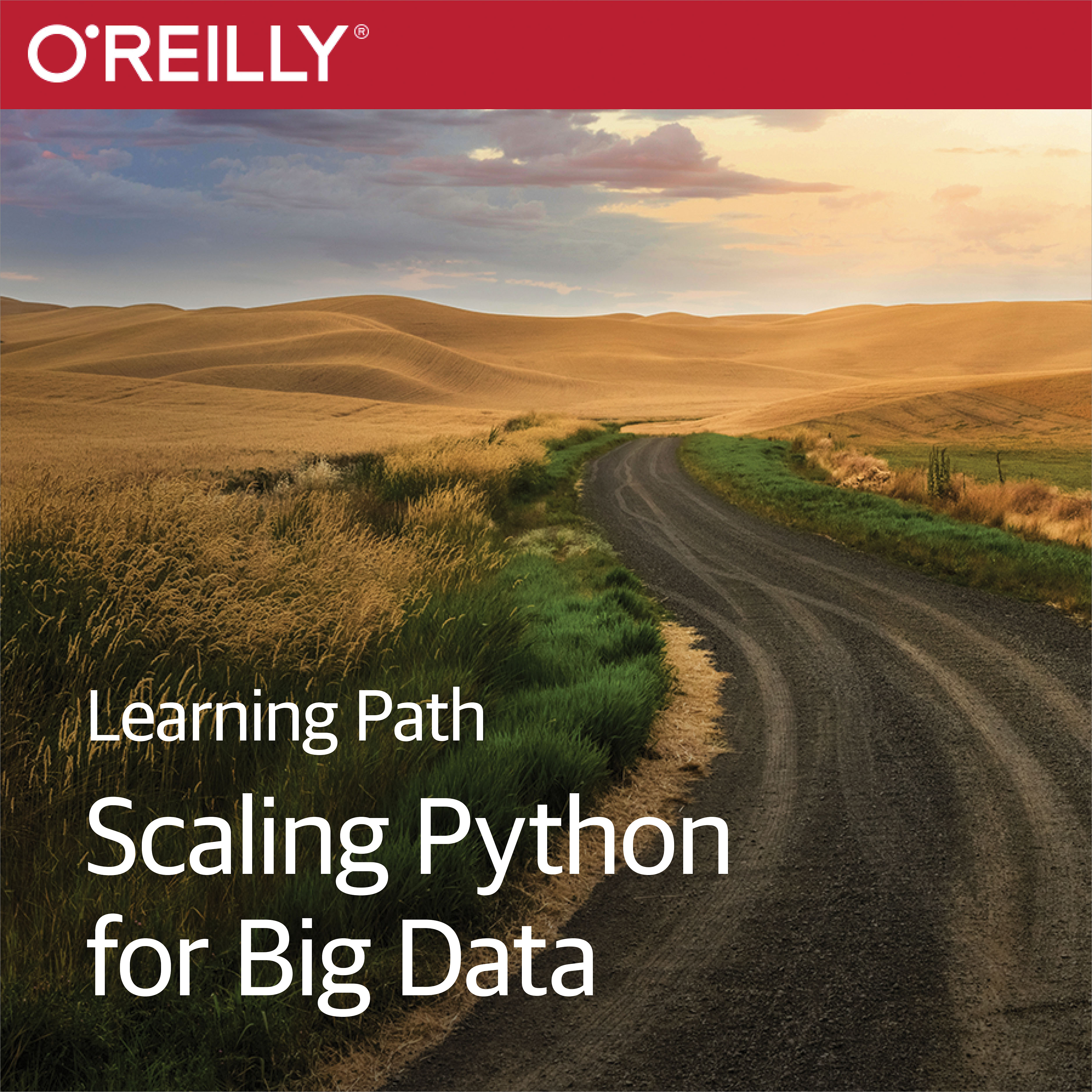 cover for Learning Path: Scaling Python for Big Data