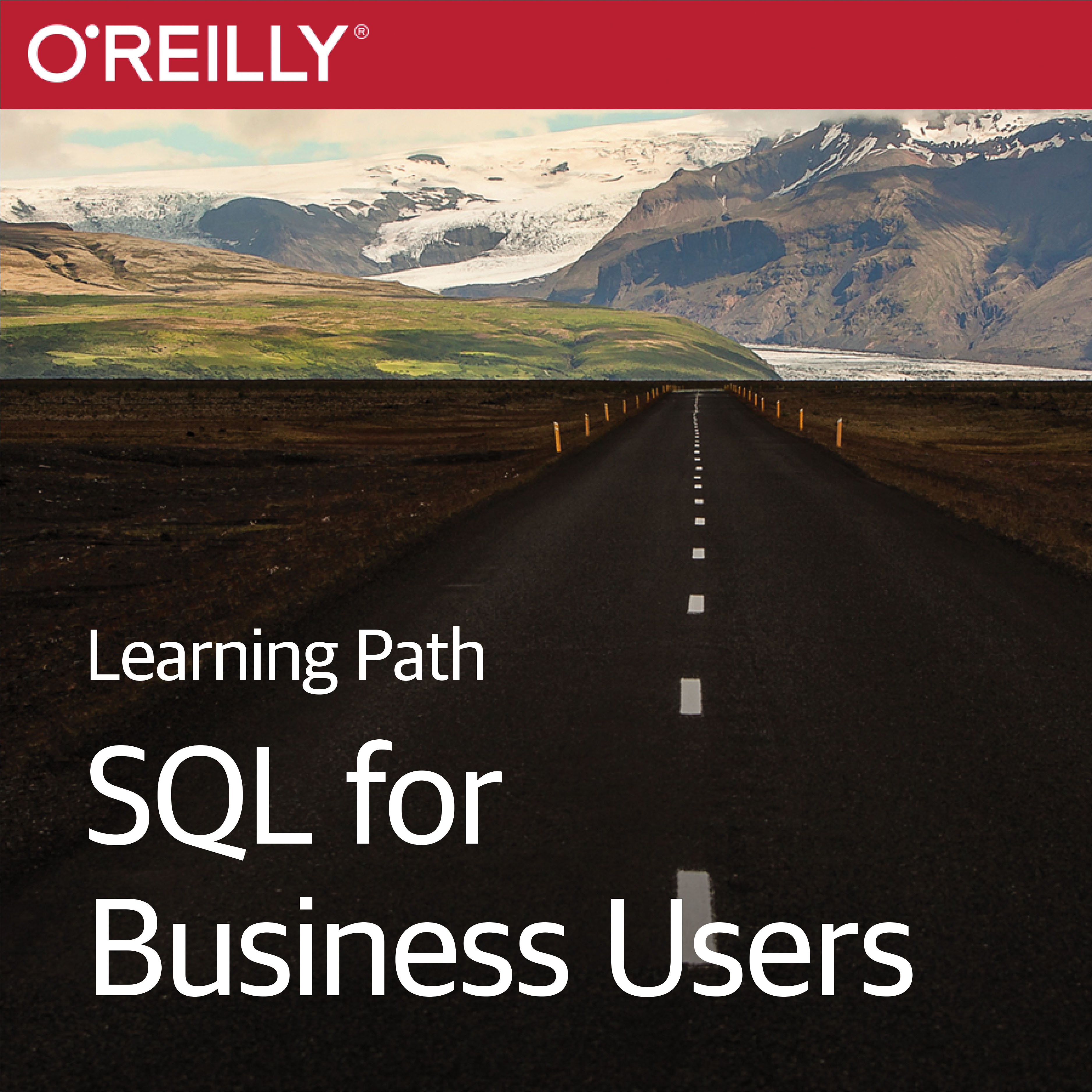 cover for Learning Path: SQL for Business Users