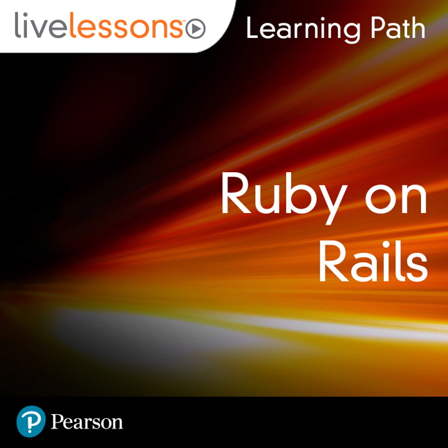 cover for Learning Path: The Ruby on Rails Tutorial (Video Training): Learn Web Development With Rails