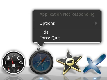 When an application isn't playing nicely, Force Quit is your best option.