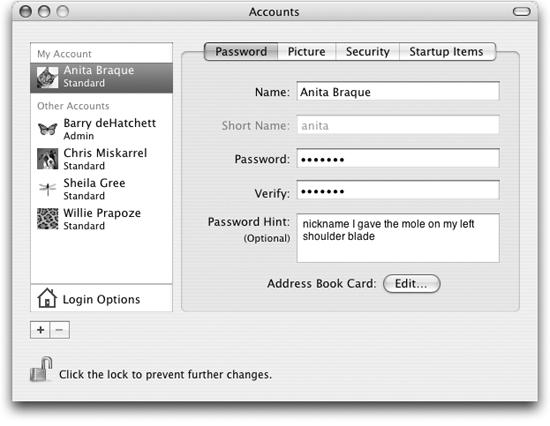 create an administrator account mac os x