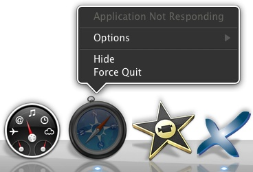 When an application isn't playing nicely, Force Quit is your best option