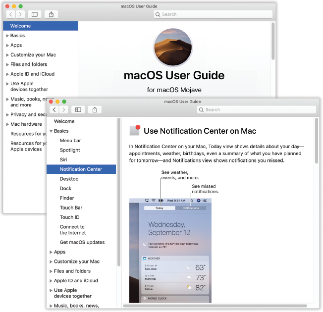 1  Folders, Windows & Finder Tabs - macOS Mojave: The