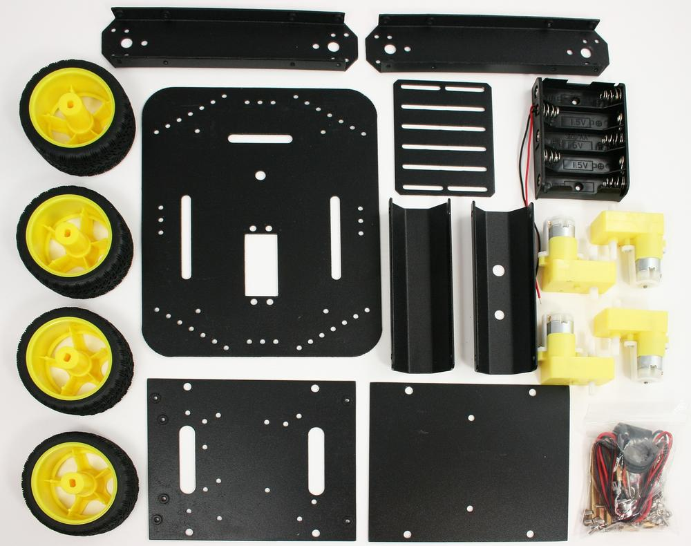 4WD chassis parts