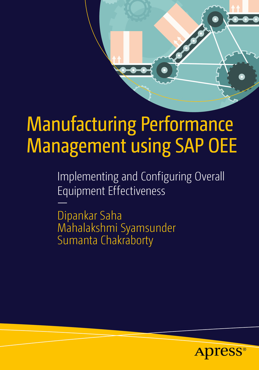 Cover - Manufacturing Performance Management using SAP OEE