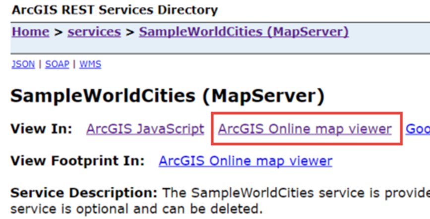 Using Portal with the ArcGIS Server REST endpoint