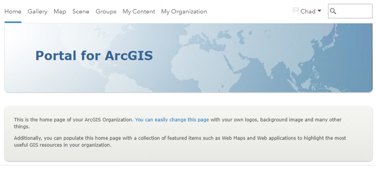 Changing the look and feel of your Portal - Mastering ArcGIS