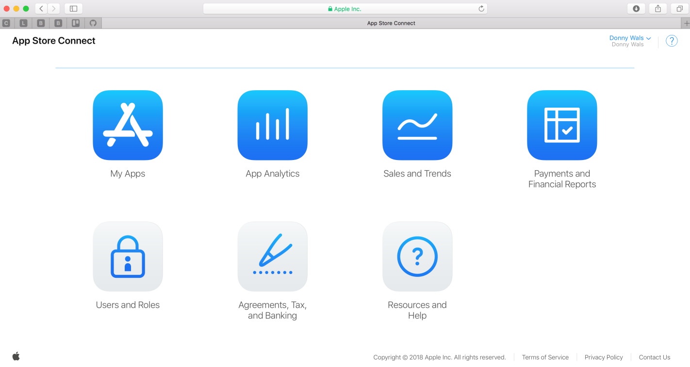 Adding your application to App Store Connect - Mastering iOS 12