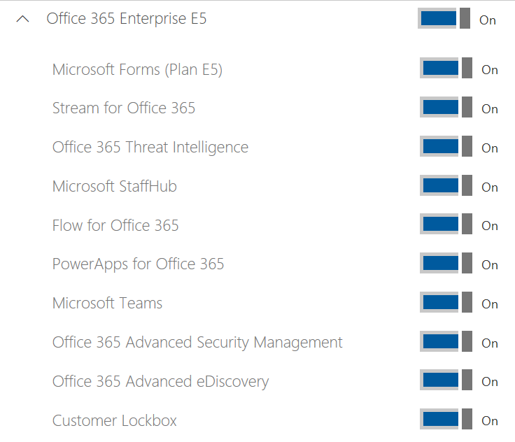 The Show or Hide Options setting - Mastering Office 365