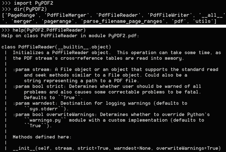 Introduction to PyPDF2 - Mastering Python for Networking and