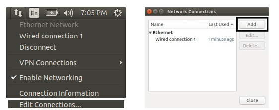 Configuring an Ethernet hotspot for Odroid-XU4 and Raspberry
