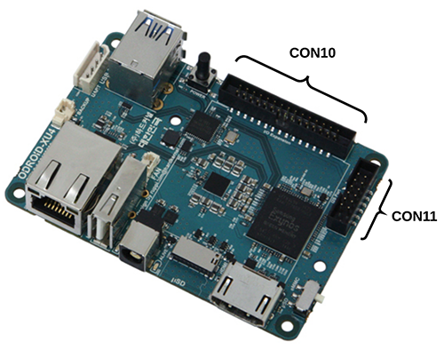 Installing Wiring Pi on Odroid-XU4 - Mastering ROS for