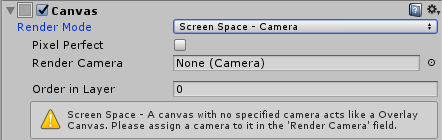Screen Space-Camera - Mastering UI Development with Unity [Book]