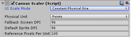 Constant Physical Size - Mastering UI Development with Unity