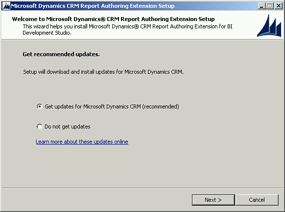 Installing CRM 2013 Report Authoring Extensions - Microsoft Dynamics