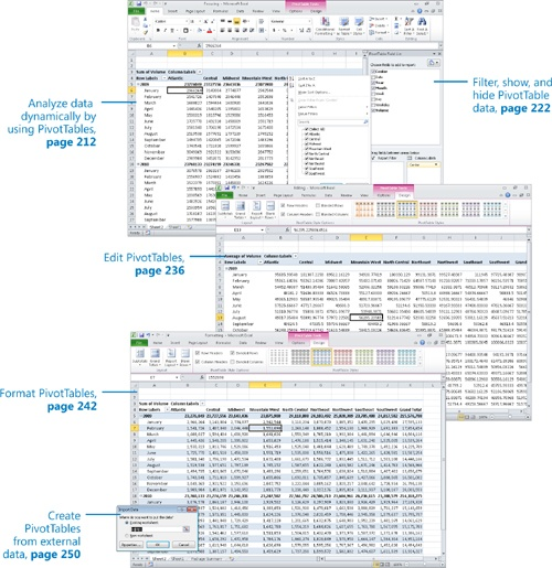 Creating Dynamic Worksheets by Using PivotTables