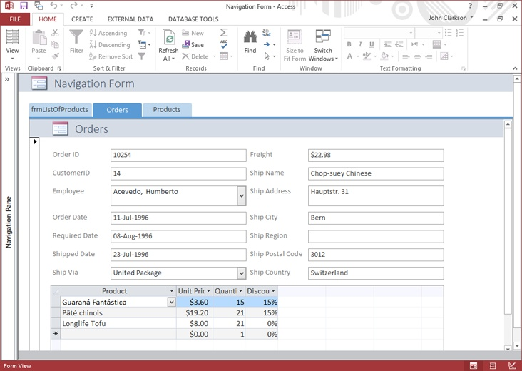 39  Designing forms and reports - Microsoft Office Professional 2013