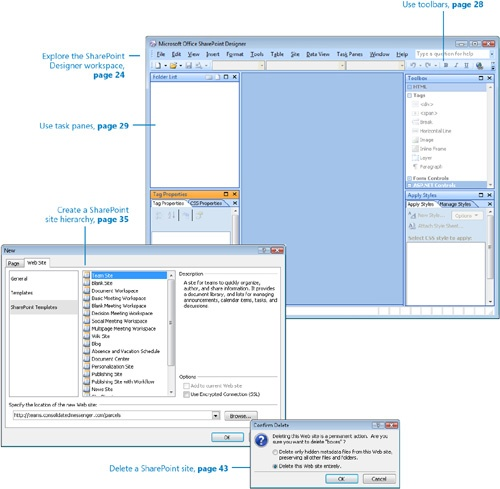 Working in SharePoint Designer