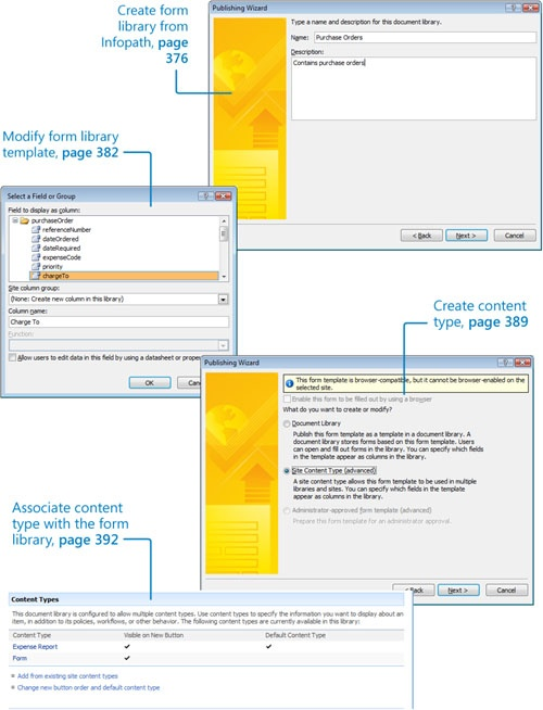 Using Windows SharePoint Services with InfoPath 2007