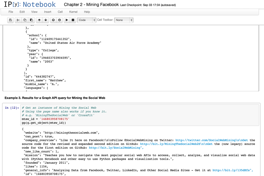 2  Mining Facebook: Analyzing Fan Pages, Examining
