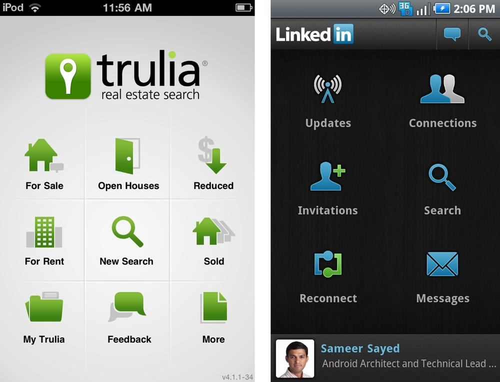 Trulia and LinkedIn
