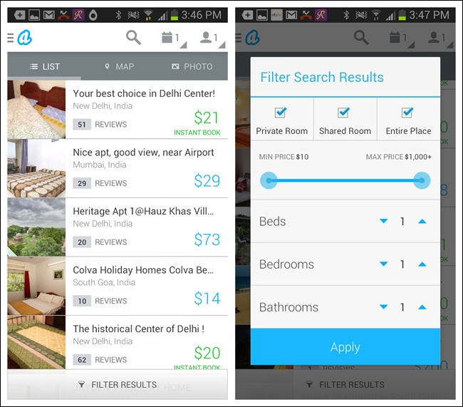 4. Search, Sort, and Filter - Mobile Design Pattern
