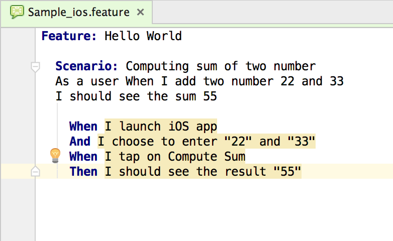 Generating Boilerplate code for iOS - Mobile Test Automation