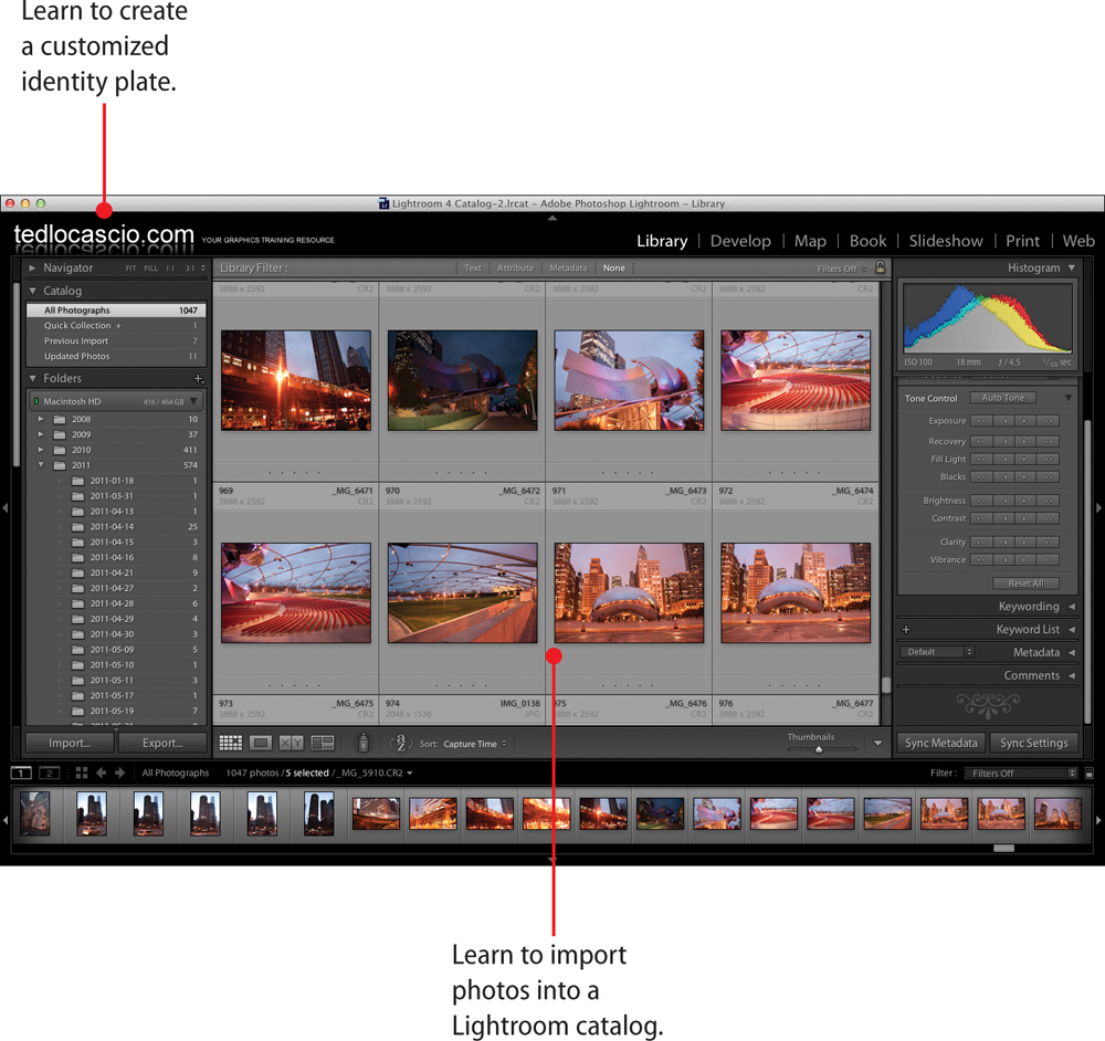 1  Getting Started with Lightroom 4 - My Adobe® Photoshop Lightroom