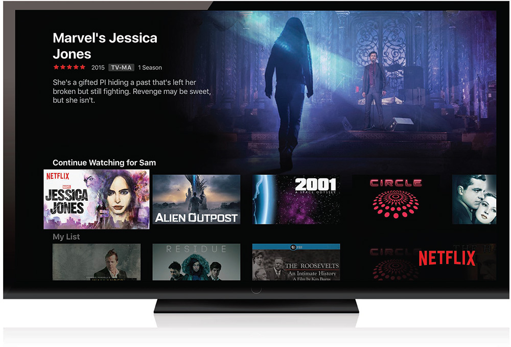 4  Using Other Video Apps: Netflix, HBO, and More - My Apple TV® [Book]