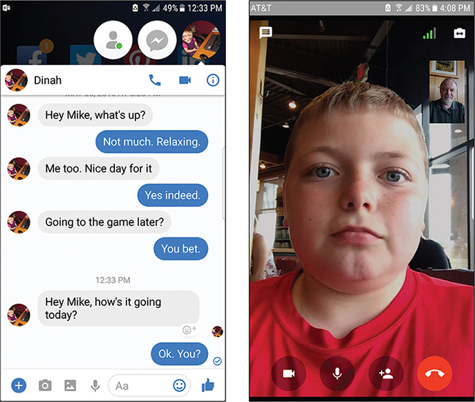 12 Chatting with Facebook Messenger - My Facebook for Seniors