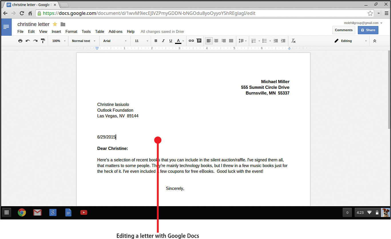 Word Processing With Google Docs My Google Chromebook Third - How to use google documents