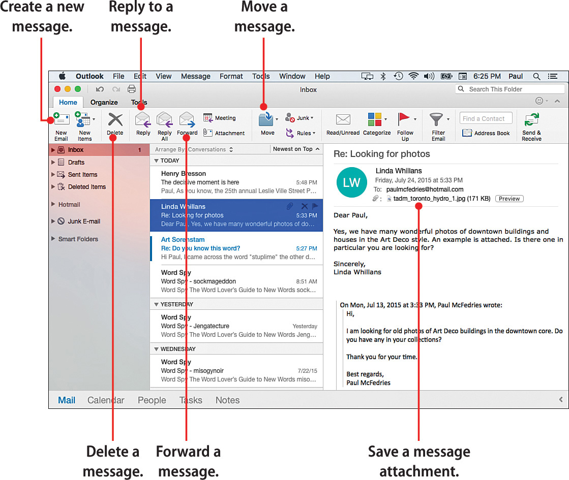 how to fix my outlook 2016 email