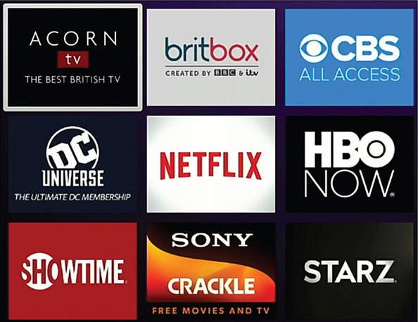 8  Watching Premium Network Streaming Services - My TV for