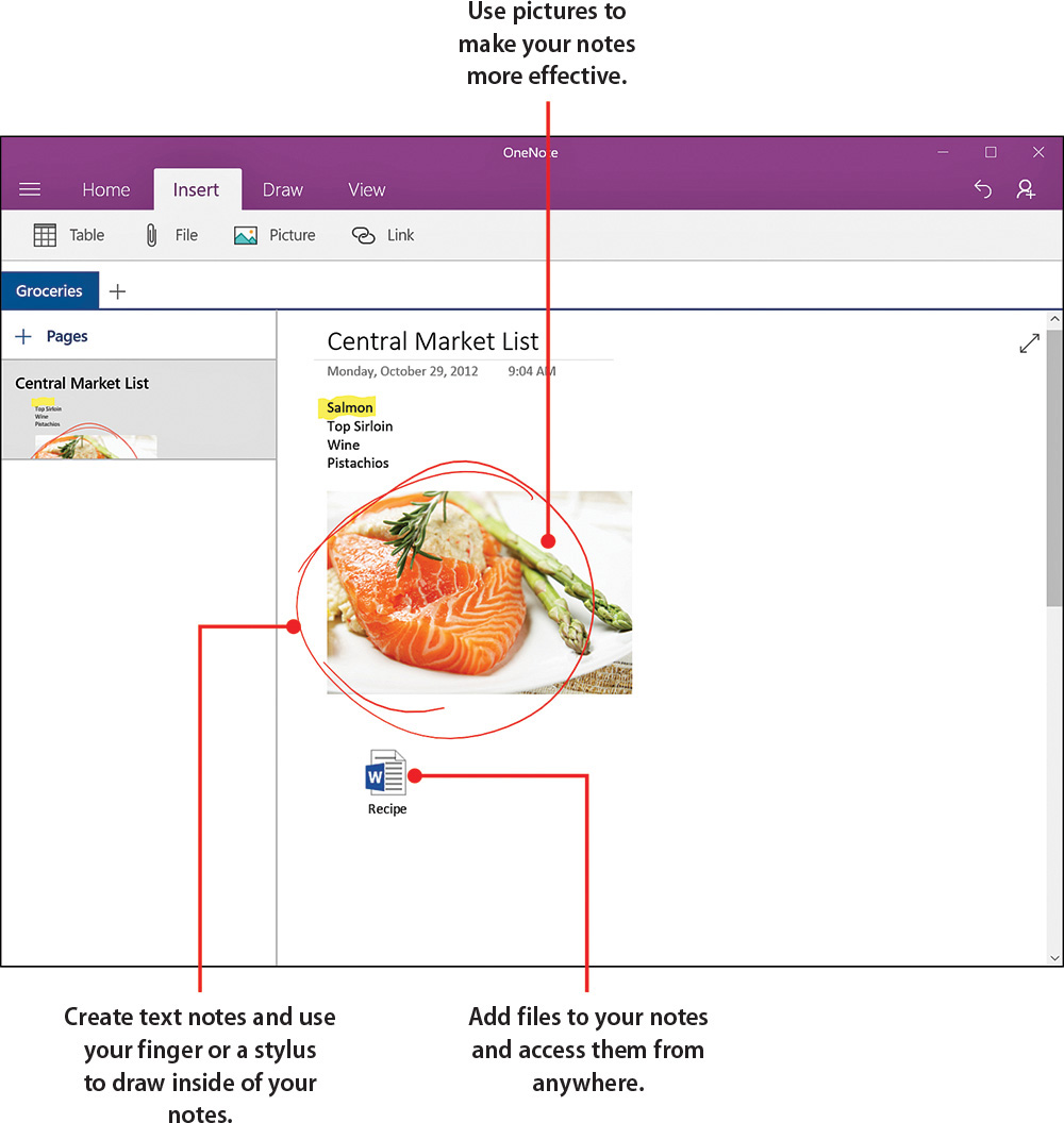 21  Organizing Notes with Microsoft OneNote - My Windows 10