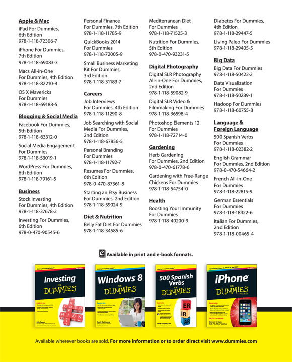 Advertisement Page - Nikon D5600 For Dummies [Book]