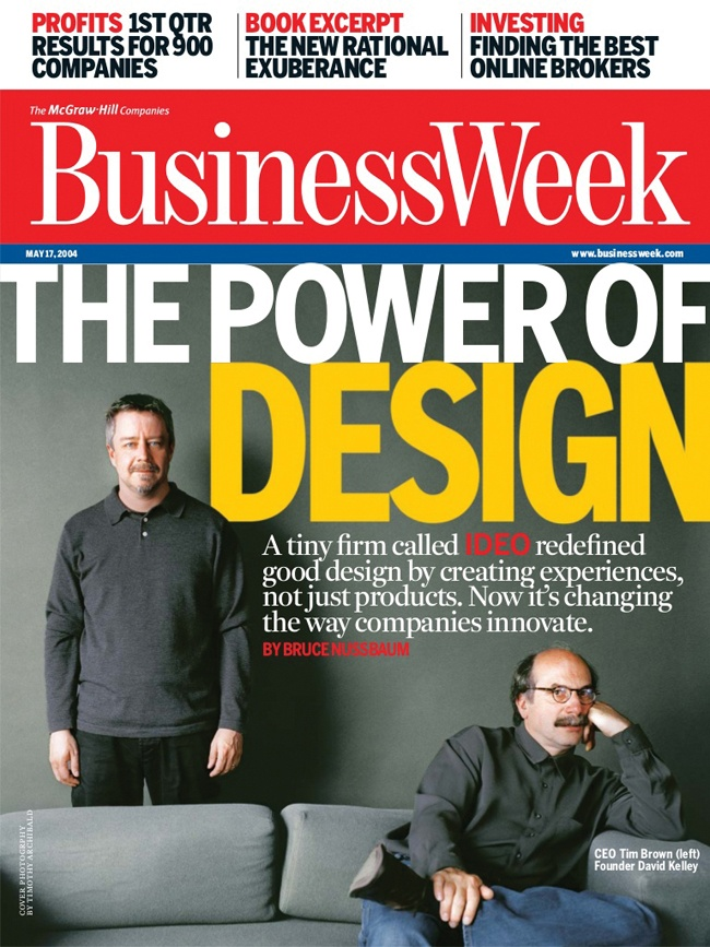 Cover of BusinessWeek, May 17, 2004