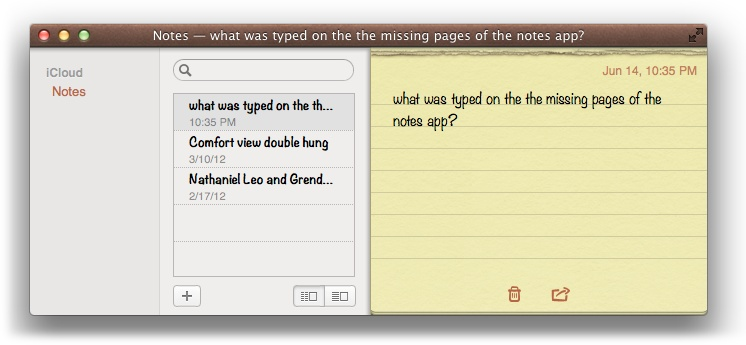 Notes is finally on your Mac