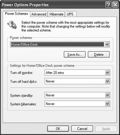 "To avoid pesky power management troubles, just set the ""System standby"" and ""System hibernates"" settings to Never."