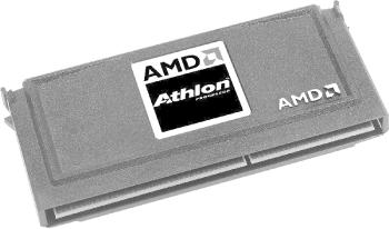 A Slot A Athlon processor (image courtesy of Advanced Micro Devices, Inc.)