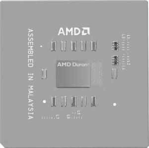 AMD Duron processor (image courtesy of Advanced Micro Devices, Inc.)