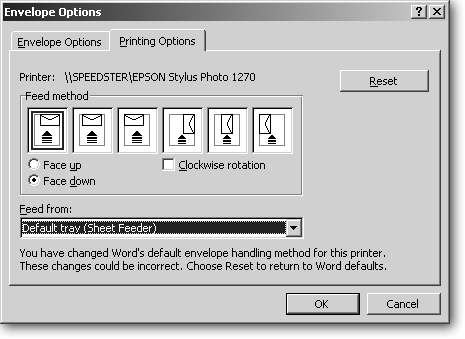 With Its Face Up Down And Clockwise Rotation Options Microsoft Word Shows