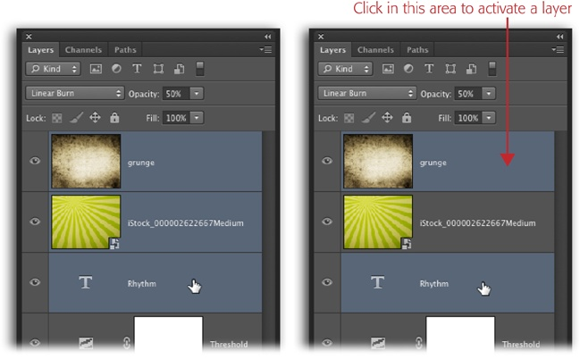 Layer Basics - Photoshop CC: The Missing Manual [Book]