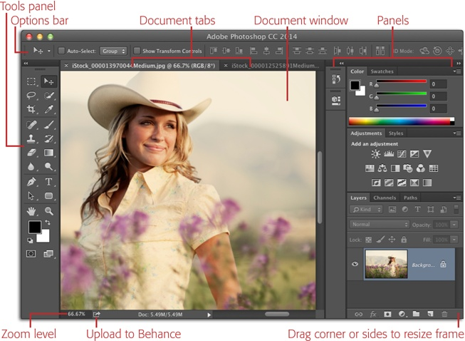 Meet the Application Frame - Photoshop CC: The Missing Manual, 2nd ...