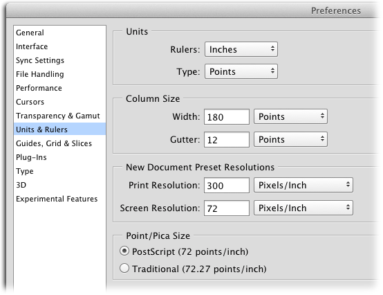 Tweaking Photoshop's Preferences - Photoshop CC: The Missing Manual