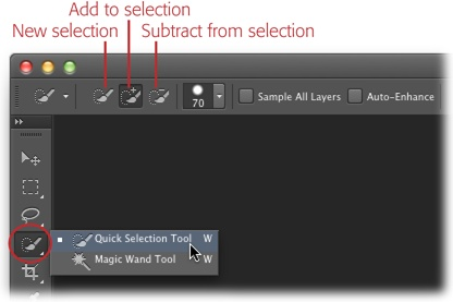 You Can Press The W Key To Activate Quick Selection Tool Switch