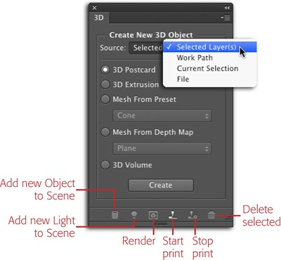Photoshop's 3D Environment - Photoshop CC: The Missing Manual, 2nd