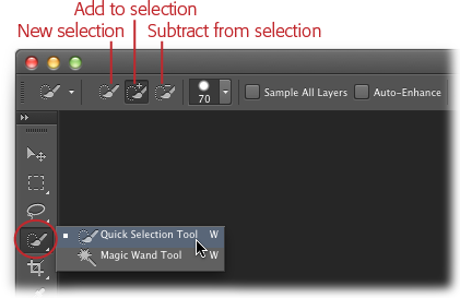 4 Selections Choosing What To Edit Photoshop Cs6 The Missing